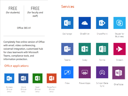 get office 365 for free if you are a teacher or student pc comms